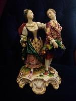 Nápolyi porcelán XIX sz közepe