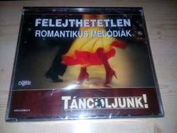 Felejthetetlen ROMANTIKUS MELÓDIÁK -TÁNCOLJUNK! 3 db CD-vel