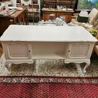 Warrings törtfehér iróasztal 160x75x77cm magas