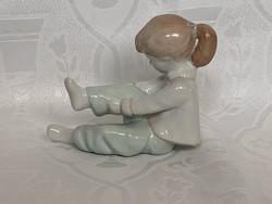 Aquincumi öltöző kislány 10 cm.