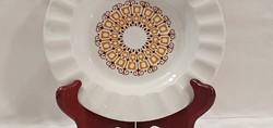 Régi Alföldi porcelán kerek, 16,5cm. átmérőjű, hamutál, hamuzó, hamutartó.
