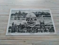 Régi képeslap Budapest