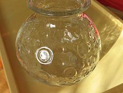 Retro art deco pöttyös váza
