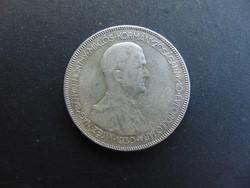 Horthy 5 pengő 1930  05