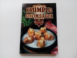 Pákozdi Judit : Krumplis finomságok, szakácskönyv