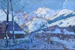 7db Márton Béla festmény (1913-2006)