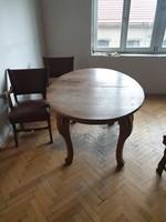 Tálaló szekrény + étkező 6 székkel eladó
