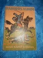 Háborús album világháború története képekben könyv 1914-15