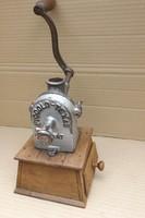 Ritka Texas USA Kávédaráló Antik kávé bors daráló Loft öntöttvas industrial Ipari vintage