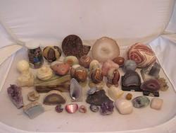 Hihetetlen drágakő és más ásvány gyűjtemény