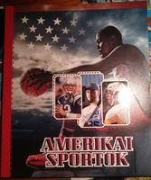 Amerikai sportok. Igényes szép könyv., Ajánljon!