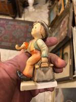 Gyönyörű nagyméretű Hummel porcelán, ritkaság, gyüjtőknek.