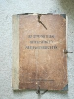Az átmenetileg hitelesíthető mérlegszerkezetek 1909