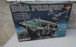 Régi retro nosztalgia RC GAMA SEA RANGER játék autó dobozában eladó