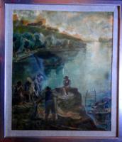 KERNSTOK KÁROLY (1873 - 1940) eredeti festménye!