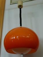 Guzzini iparművészeti mennyezeti lámpa a 70-es évekből, Meblo gyártmány