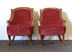 0Z206 Régi neobarokk szalon fotel párban