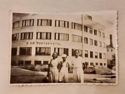 Régi fotó 1940 körül M. kir. postahivatal épület fénykép