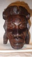 Régi Afrikai maszk , fafaragás
