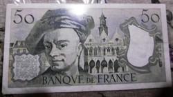 Francia bankjegy 50 Frank