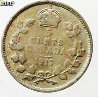 Ezüst 5 Cent Kanada