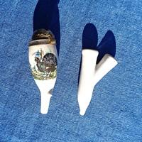 Két részből álló kerámia pipa