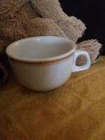 Ritka Alföldi vastagfalú csésze arany csíkkal