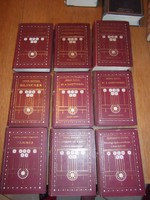 1909-11 Franklin Társulat 9 kötete