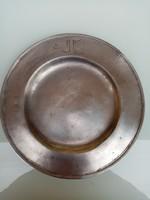 Antik ón tányér
