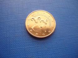 CIPRUS 5 EURO CENT 2016! KECSKE! ! UNC! RITKA!