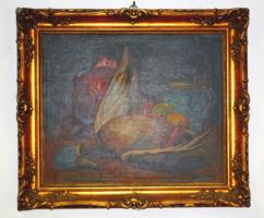 Festmény 60 x 50 cm aranyozott keretben Csépai Cs Géza