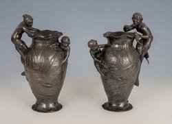 Ón váza pár sellő figurával