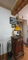 Antik, gyönyörű, mennyezeti lüszter lámpa az 1900-as évek elejéről.