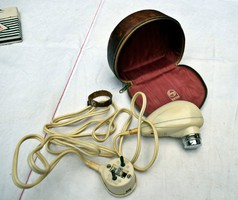 Retro Philips Philishave 7735 hordozható villanyborotva eredeti működőképes állapotban 50-es évek