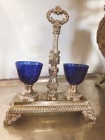 Ezüst antik francia füszertartó 1830-1840