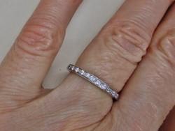 Gyönyörű 14kt-os arany gyűrű 0.2ct gyémánttal