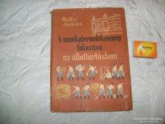 Hellei András - könyv 1957 - állattartás