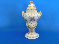 Herendi Viktória Barokk fedeles váza