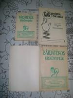 Régi bábjátékos könyv - három darab