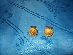 Mandzsetta gomb pár mária terézia képével