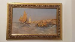 Hans Johann Wagner : vitorlások a tengeren