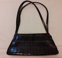 Vintage jellegű kisméretű Jane Shilton bőr táska