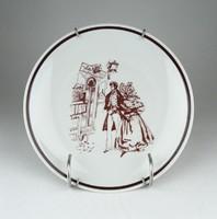 0Z555 Alföldi porcelán falitányér 19 cm LOTTO