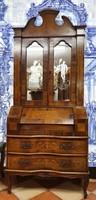 Barokk stílusú kabinetszekrény, írószekreter