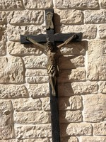 Jézus korpusz nagyméretű kereszt feszület