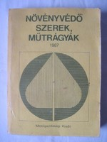 Karlinger János : Növényvédő szerek műtrágyák 1987