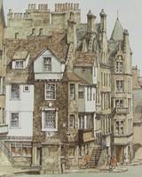 0Z671 Philip Marom : John Knox House Edinburgh