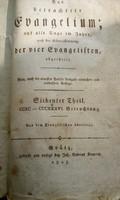 Evangélium 1805-ből