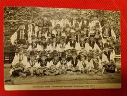 Antik képeslap Mezőkövesd-Mezőkövesdi legénykék a képek szerint