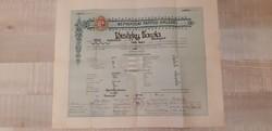 Papírrégiség_tanitói oklevél_1933